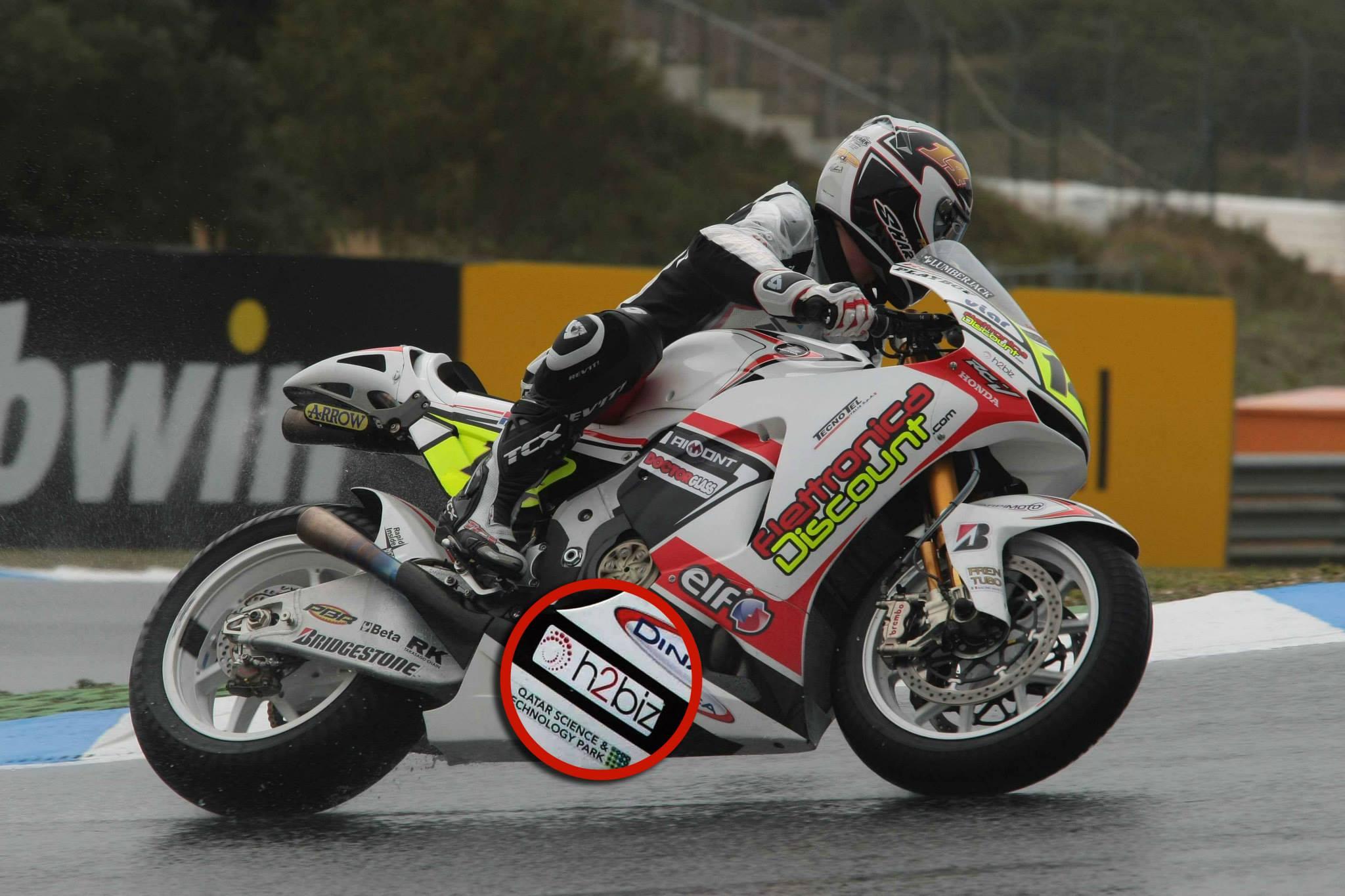 H2biz MotoGP - Randy De Puniet